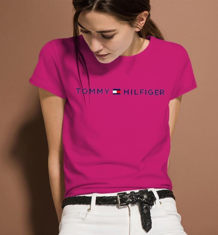 Любители носить поло 2020 новых летние с коротким рукавом дизайнер марки Т-рубашки классической женских праздник случайной парой Ms модами футболки.