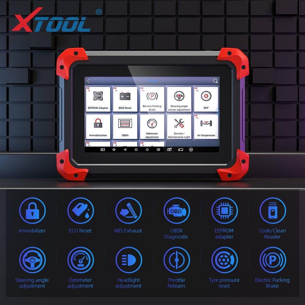 100% original XTOOL X100 PAD misma función que X300, X100 cojín auto del programador con función especial de actualización en línea X300 Pro