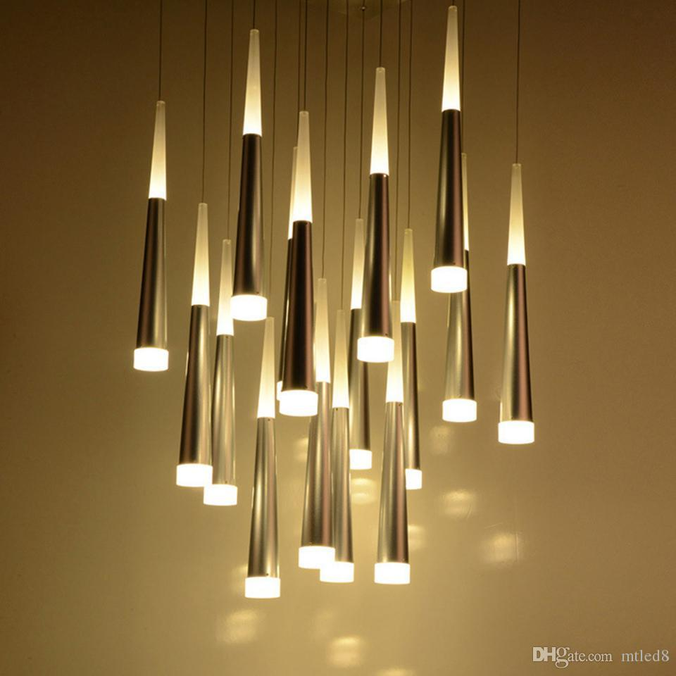 Modern LED Pendant Lamps Iron Metal Light Fixtures Fashion Bedroom Decorative Restaurant Dining Kitchen Pendant Lamps