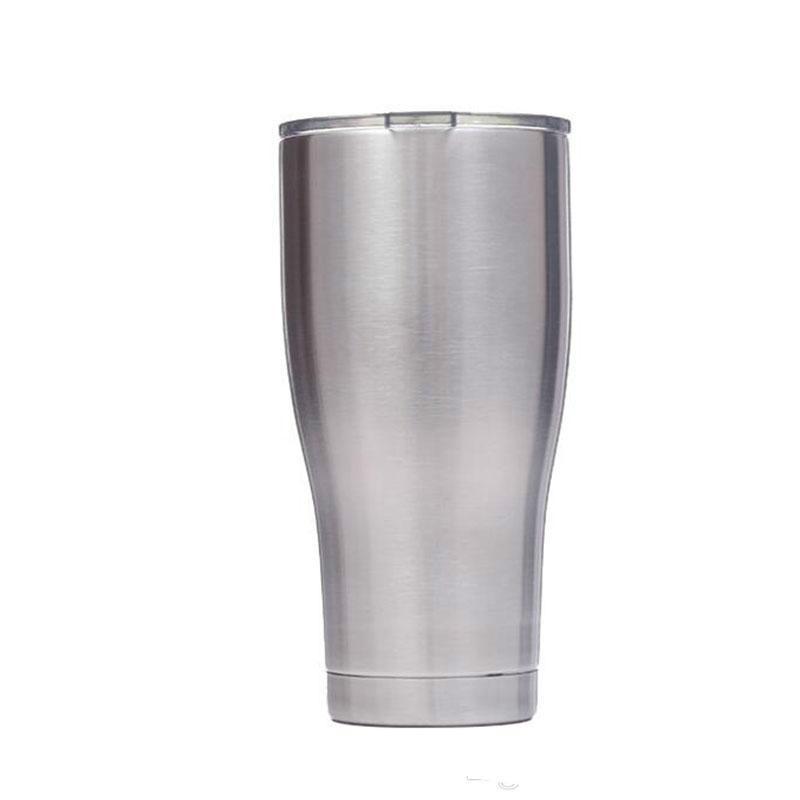 30oz caneca de viagem isolada copo de aço inoxidável carro de gelo acampamento de parede dupla isolação de vácuo tazas cerveja copos de café
