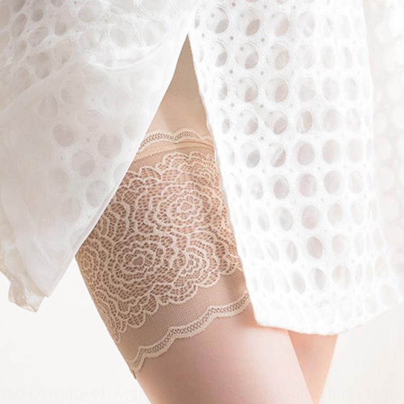 Sicherheit Hosengamaschen anti-Exposition des Sommers der Frauen dünne Spitzegamaschen tragen hohe Taille Aufsitzen Sicherheitshosen