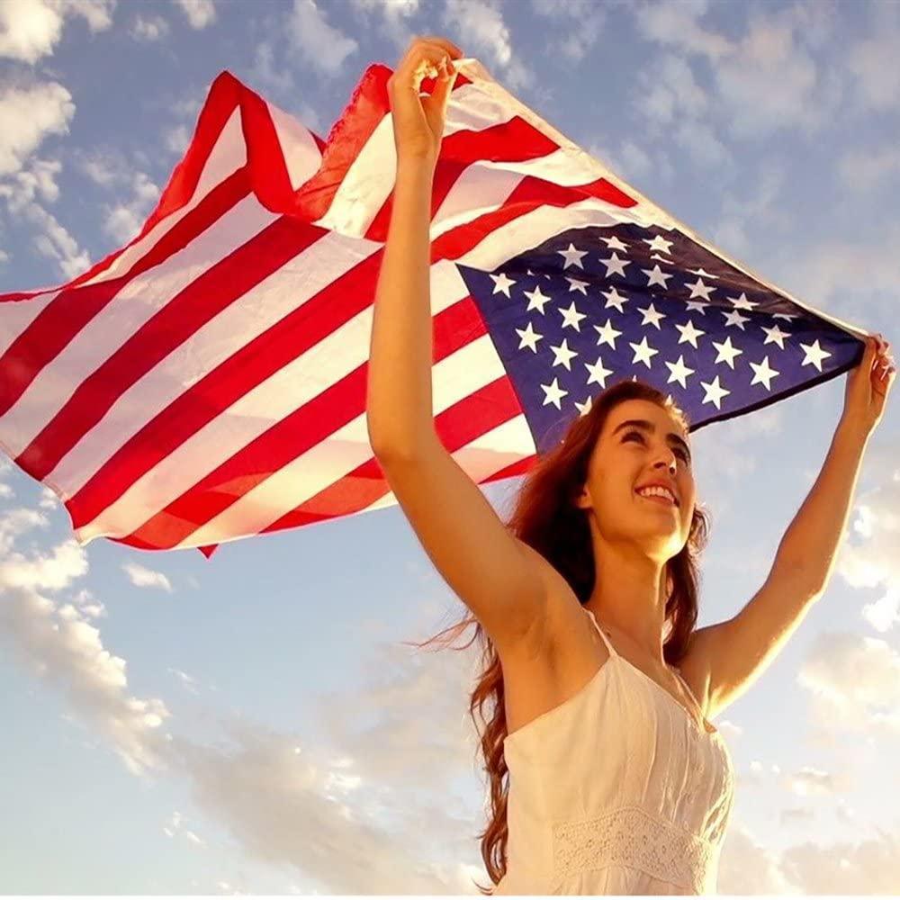 DHL 100pcs gratuitos bandeira confederada Flags Eleição Presidencial da bandeira dos EUA Trump US slogan de campanha do partido bandeira festival bandeira do partido lavável