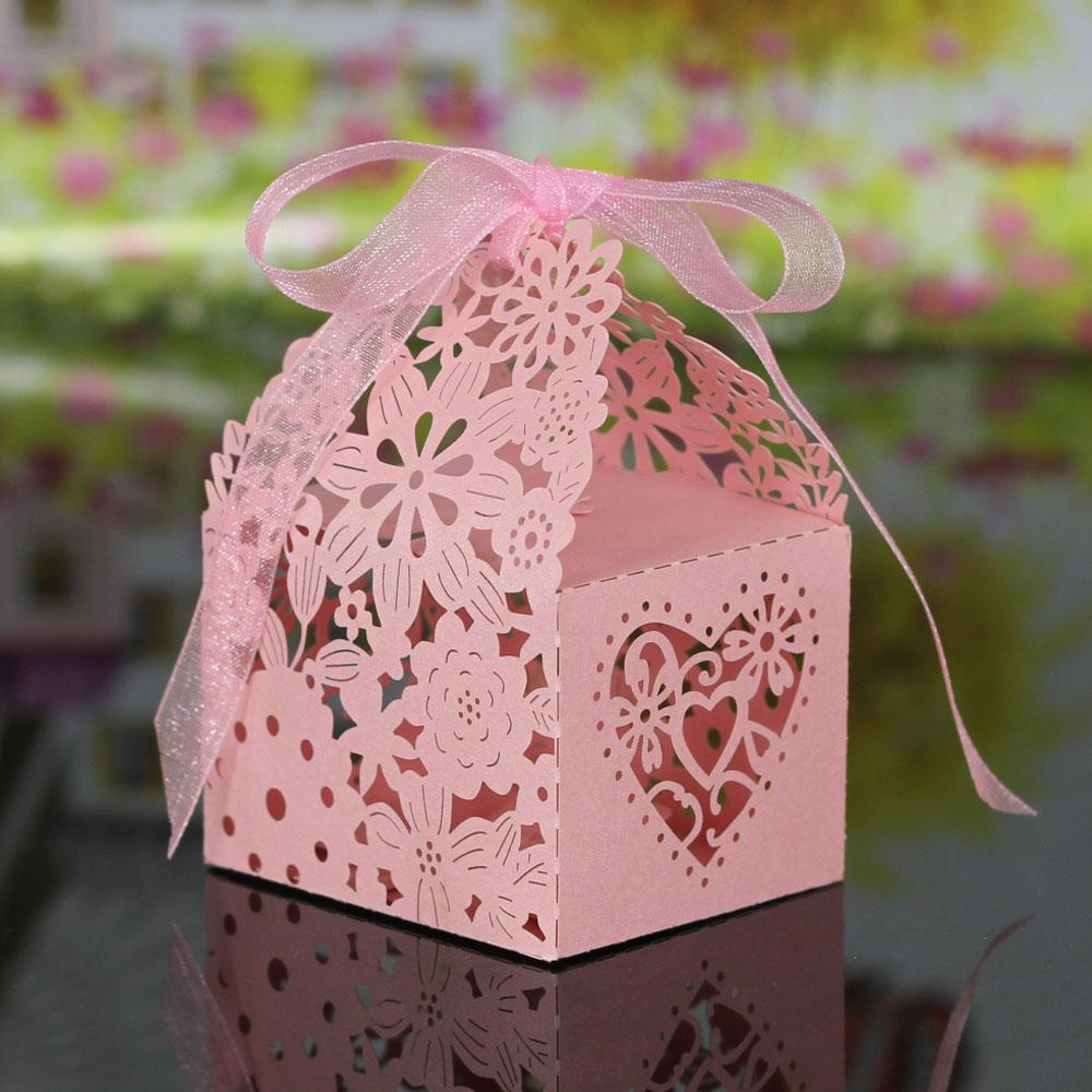favor Wedding Candy Box for Festival paper Gift cupcake Boxes for Banquet Romantic Wedding Decoration party supplies