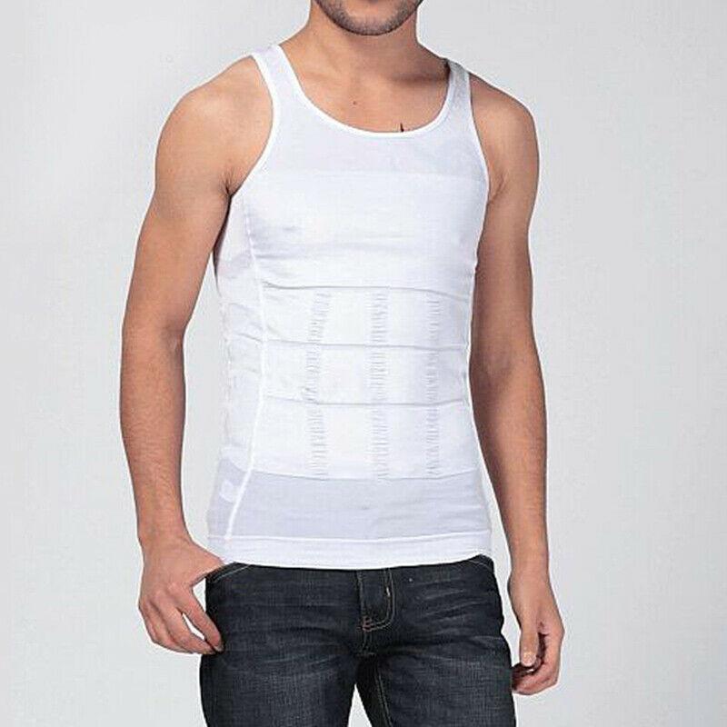 Новый 2020 Мужчины похудения Vest сжатия рубашки Танк Гинекомастия Moobs Control Body