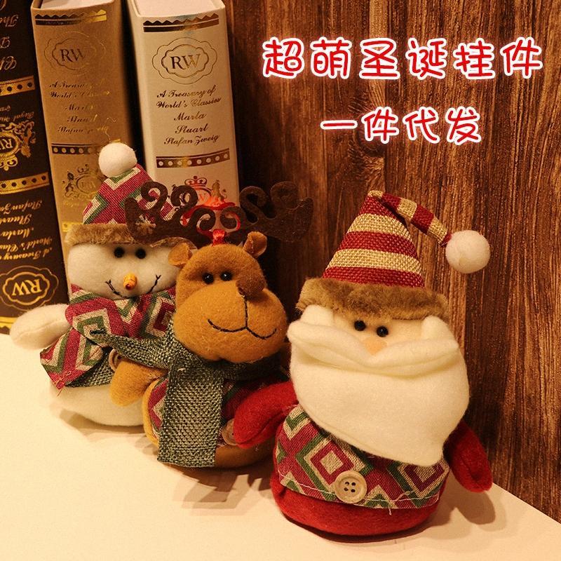 Schmuck Santa Claus Dekoration Weihnachtsbaum Weihnachten täglicher Bedarf Baum Einkaufen für Weihnachtsschmuck Silber Christma Eldy #