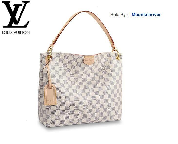 mountainriver MN44 N42249 Изящные PM Rose Ballerine Женщины HANDBAGS Iconic СУМКИ РУЧКИ Наплечные сумки TOTES CROSS BODY BAG КЛАТЧИ