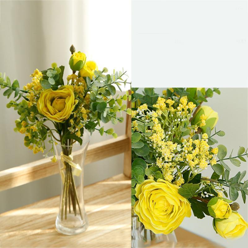 Artificial Flowers Gypsophila Bouquet Simulation Babysbreath Flowers for Home Wedding Party Desktop Decoration Holding
