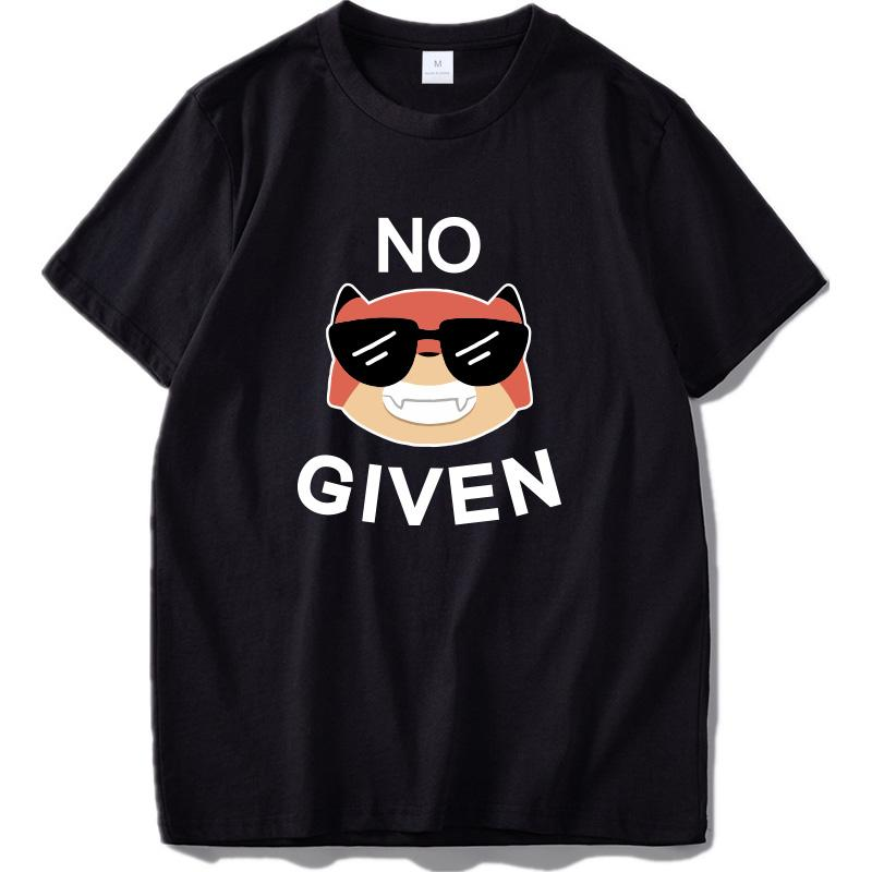Размер EU 100% хлопок Прохладный Fox Нет Учитывая Вдохновленный Мода Дизайн коротким рукавом майка футболки Негабаритные Streetwear для мужчин