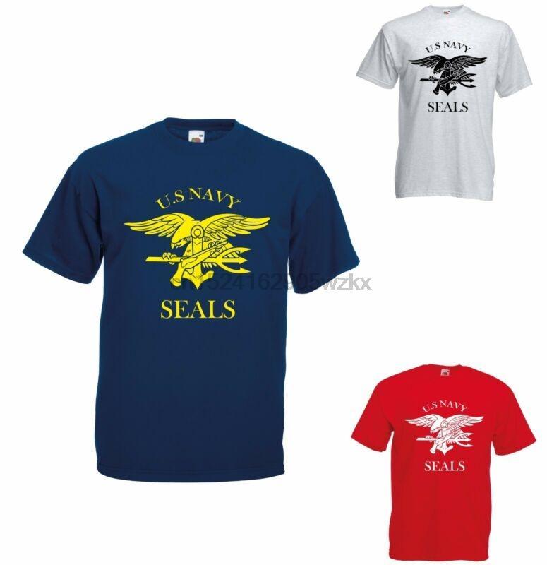Navy Seals US T-shirt - Rétro US AIR FORCE MARINES présente