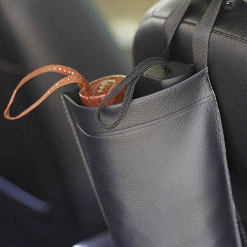 Paraguas de coches de cuero artificial bolsa impermeable plegable de la manija larga o corta sostenedor del paraguas bolsa de almacenamiento ILRN #