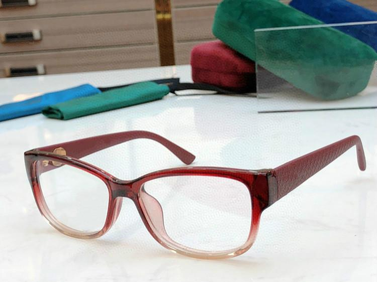 2020 nueva calidad de la trama Clásico GG3790 Eleglant Gafas para la importación de mujeres Pure-Plank 54-15-150 de receta de la caja Set completo de los vidrios