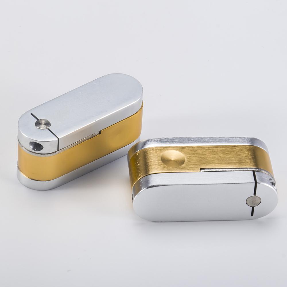 DHL-Messingmetall Twist Rohr mit Stash Metro Rohr Tragbare Stash Fischer Freund Affe Metallpfeifen Herb Taschen Hand-Pfeife