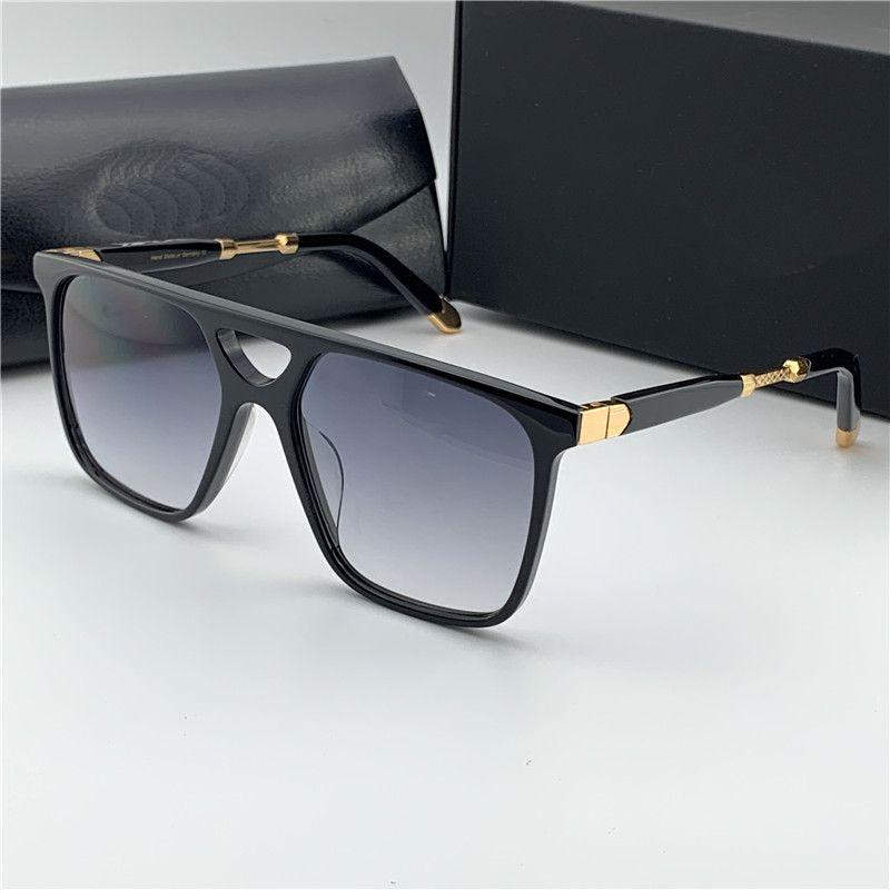 Top Uomo Occhiali da sole The Bold I Design Eyewear Square Squaro Hollow Frame di fascia alta e di altissima qualità Occhiali da esterno UV400