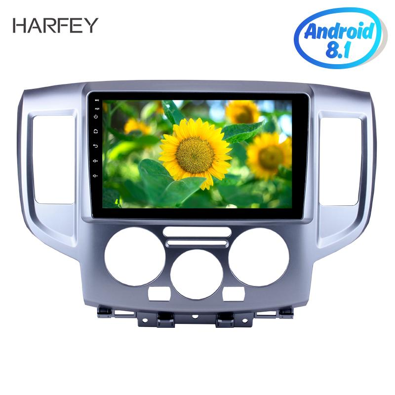 """Harfey 9"""" Android 8.1 Head Unit Player For 2009-2016 NISSAN NV200 GPS Car Radio Rear camera Support AUX 3G SWC Mirror Link OBD2"""