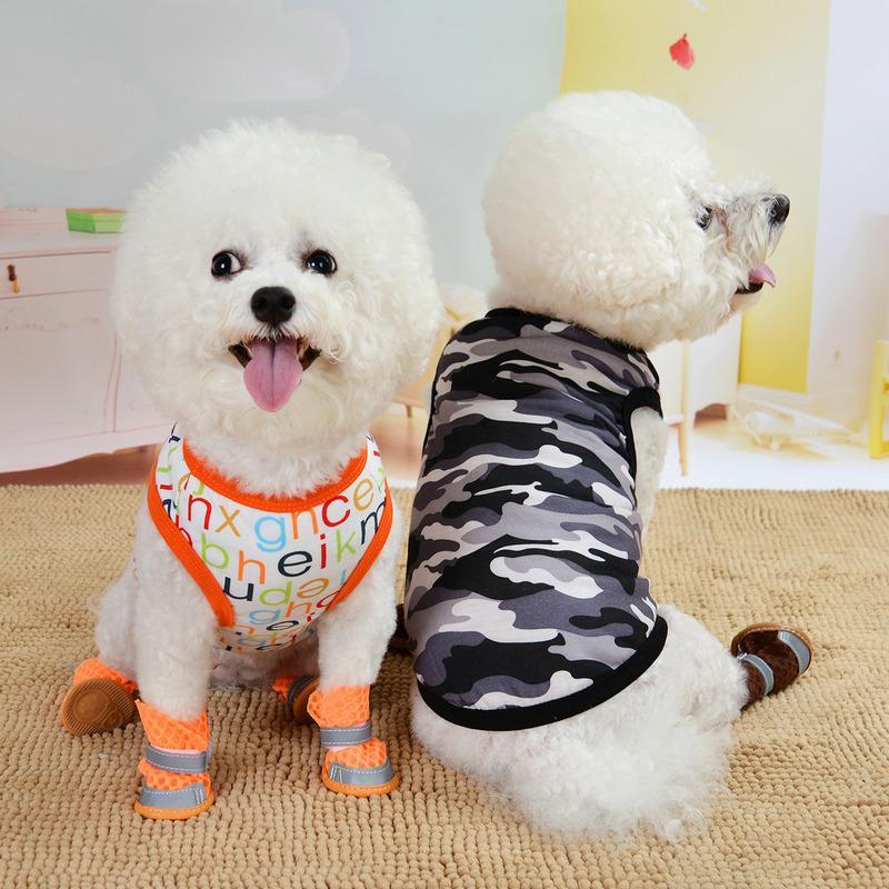 Venda quente Cães Cogs Colete Cool Roupas Respirável Roupas Verão Vestimento Filhote De Cachorro Vestuário Muitos Tamanhos Venda Quente 4 5md D2
