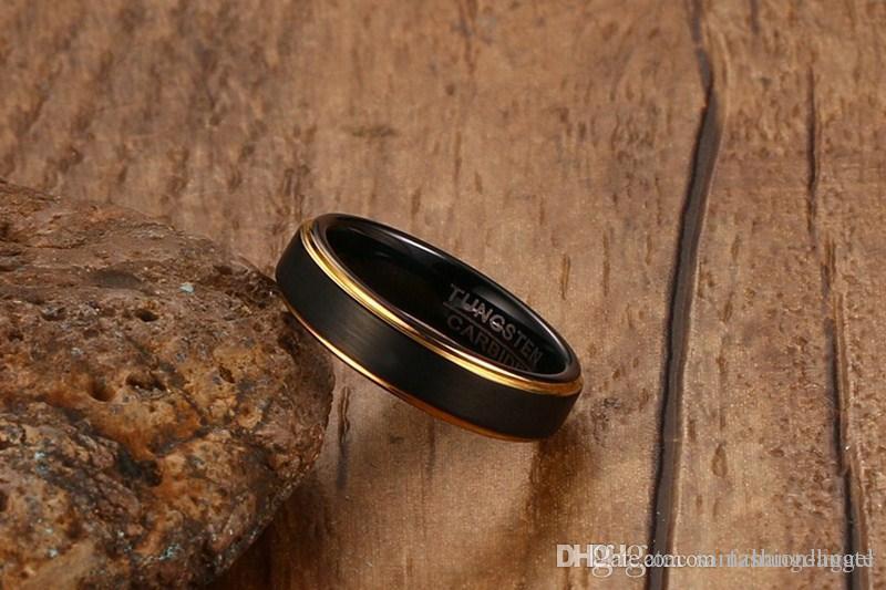 G85 Valentinstag Geschenk für Männer Wolframcarbid Ringe Wolfram Ring Hand Schmuck Fingerring Großhandel Mischauftrag Juwel Fabrik sup