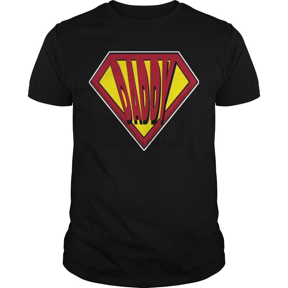 Uomini tshirt SUPER DAD MAGLIETTA fresco maglietta stampata tee top