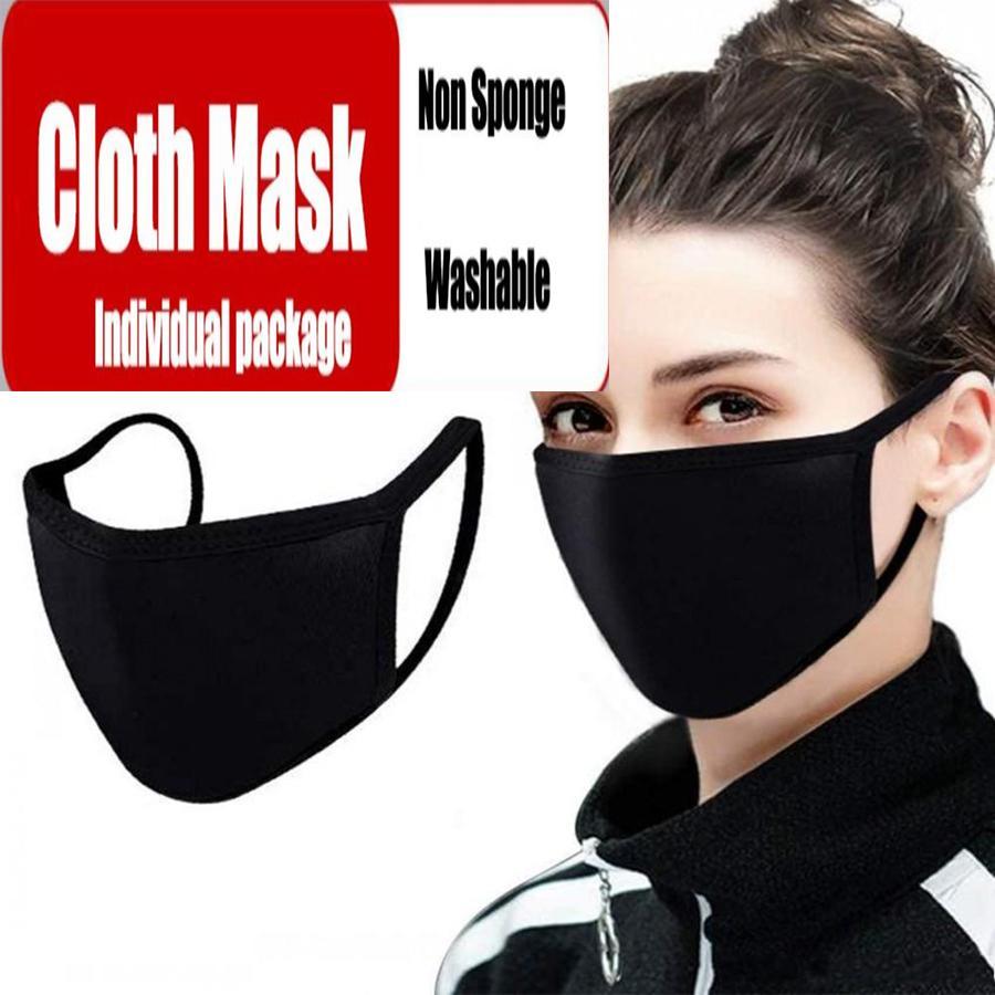 Bio Labs Gesicht PM2.5 Masken mit Atem 100% Baumwolle Waschbar wiederverwendbares Tuch Masken Schutz vor Staub Pollen Tierhaaren