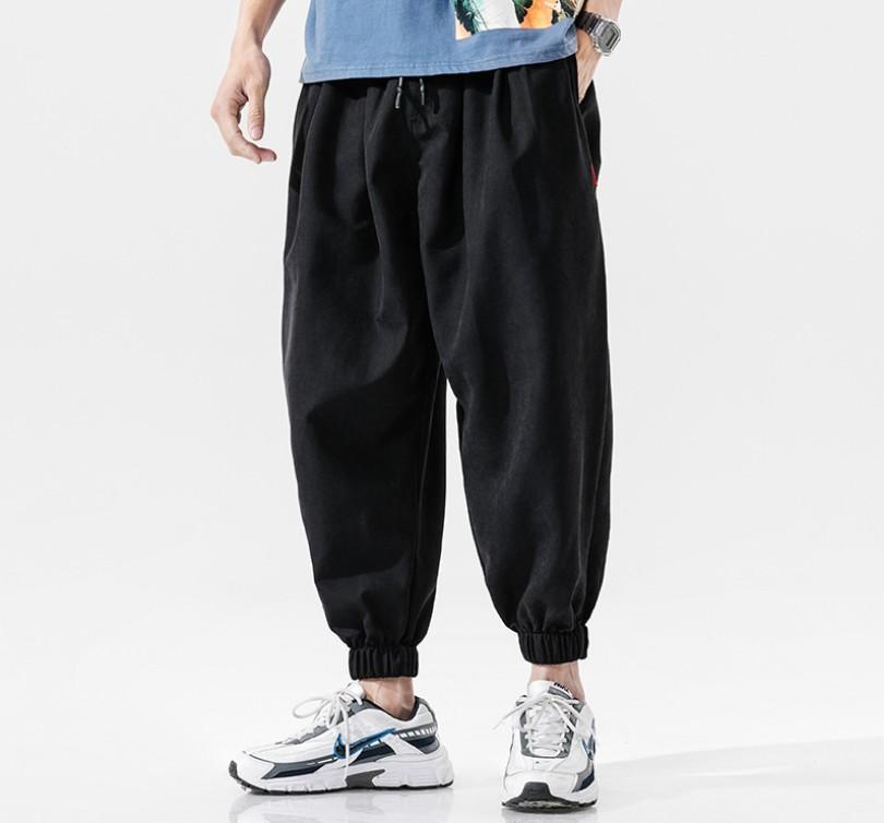 Streetwear Joggers mince Hip Hop Pantalons Mode Sweatpants vêtements de style coréen running Hommes Pantalons Kpop surdimensionné lâche baggy mâle