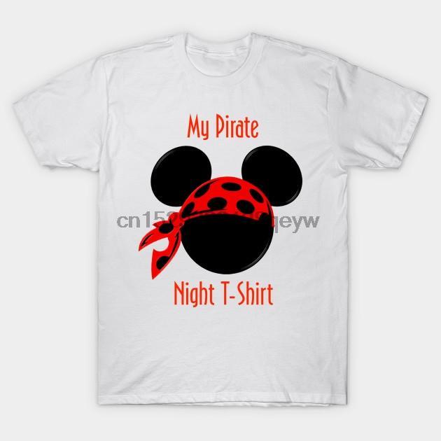 Gli uomini della maglietta Il mio Pirate Notte maglietta della maglietta della maglietta Donne
