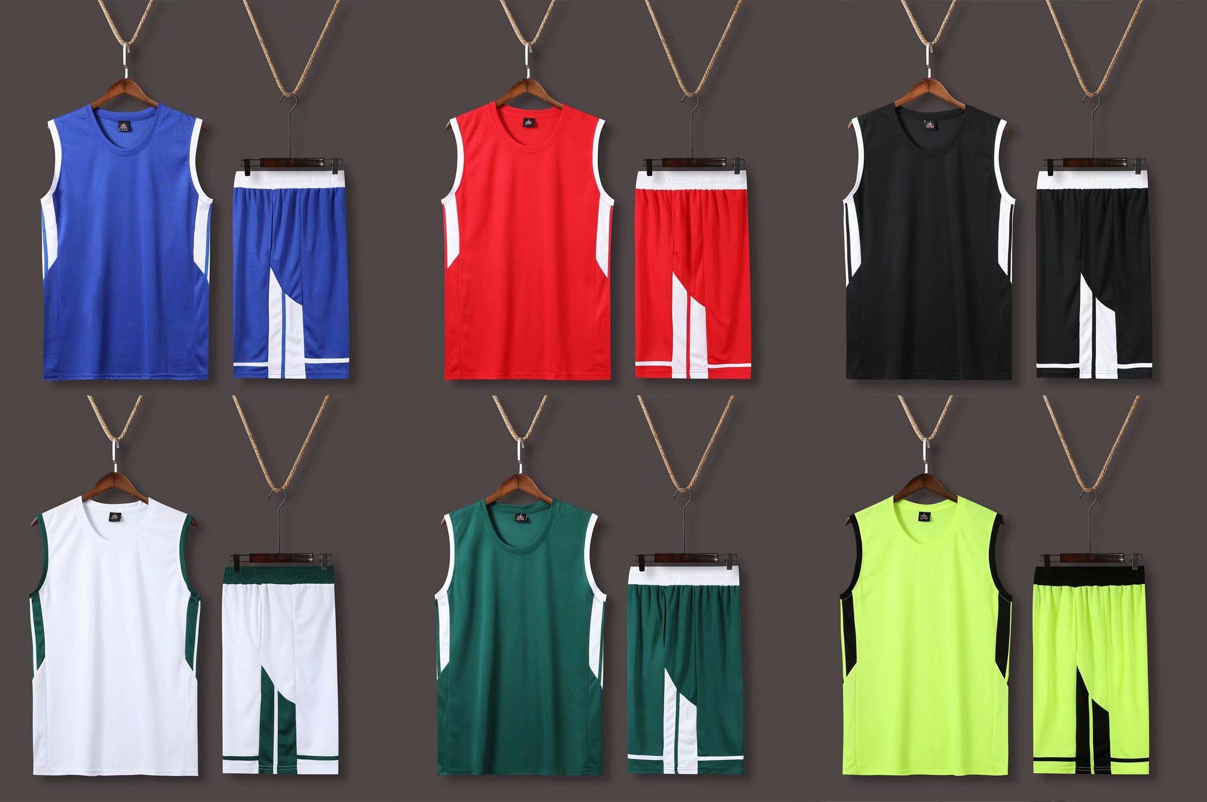 uniformes de basquete crianças, jovens, homens,, jérseis, treinamento, respirável, padrões personalizados e logotipos