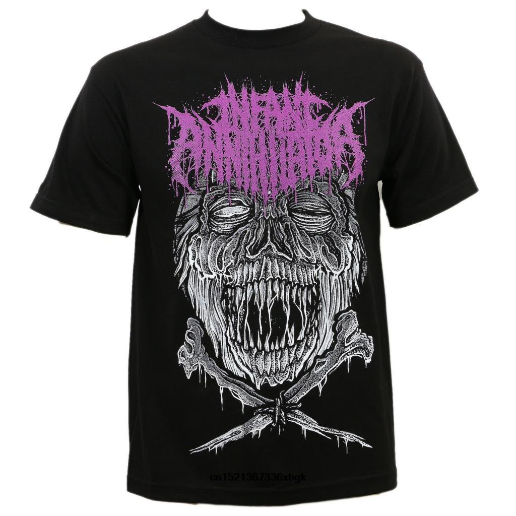 Authentic Infant Annihilator Cheeky Deathcore T-Shirt S-3XL New T-Shirt Marke Fitness Bodybuilding-Spitze T Sommer