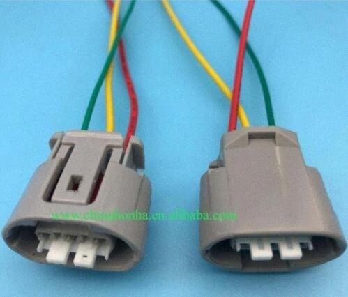 5/10/20/50/100 pcs 3 pin wasserdichte Kabelbaum Sumitomo Car Generator Regler Steckverbinder 6189-0443 mit 15cm 18AWG Kabel 6iJH #
