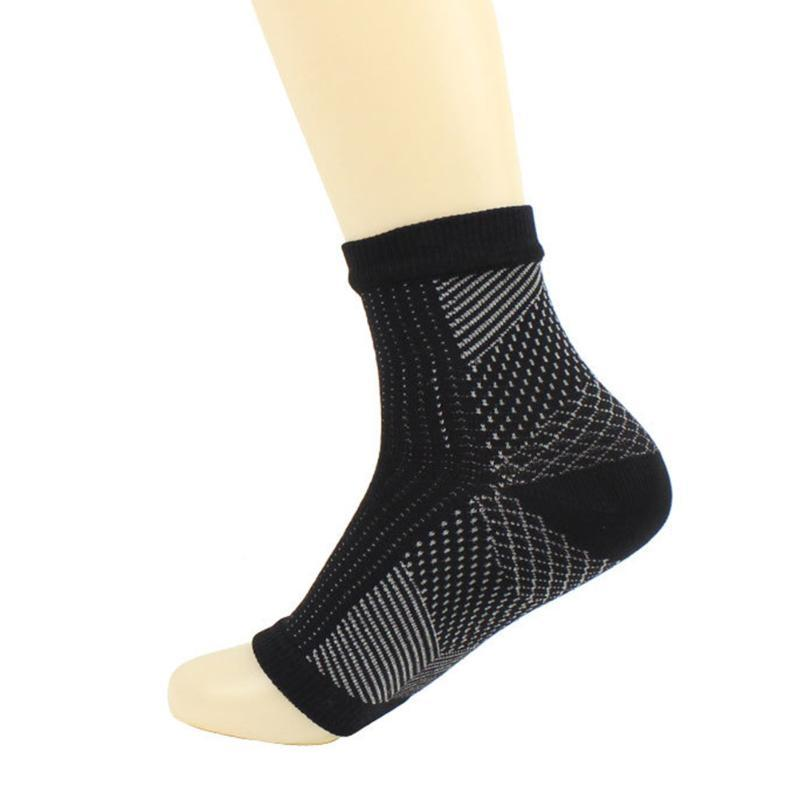 1Pair Invisible Sportsocken Männer Frauen Nylon Ankle Heel Support Breathable Absorptions Compression Fußschutz Sleeves