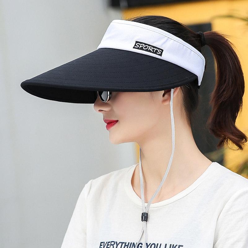 Kadınların yaz 2020 yeni Koreli gündelik moda güneş şapka açık serin şapka hepsi maç güneşten
