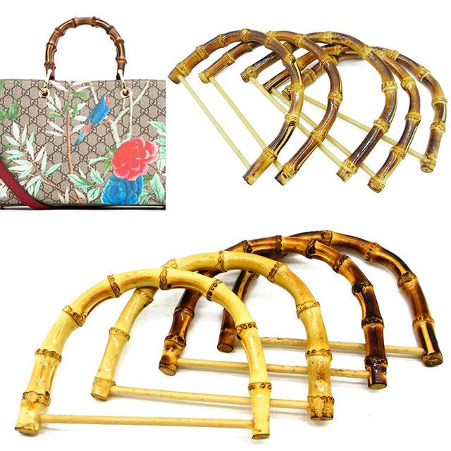 Luggage & s Bag Parts & Accessories DIY Bamboo Purse Frame 1PC D / Round Shape Bag Handles Handmade Handbag Making Bag