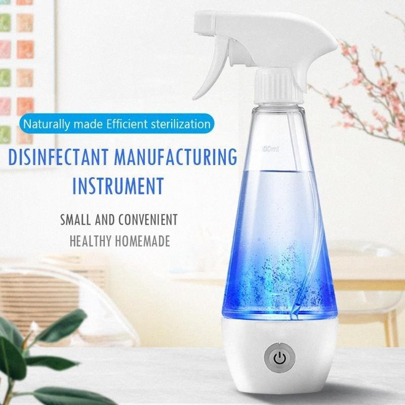 Hydrogen portátil garrafa de água de desinfecção líquido eletrolítico Gerador de hipoclorito de sódio Fazendo Proteção máquina de pulverização GEIE #