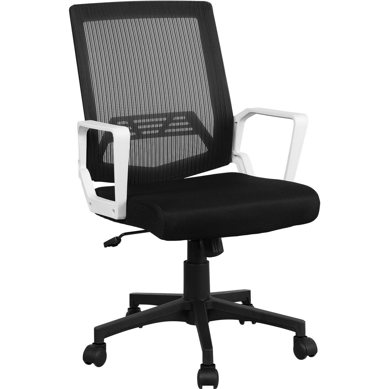 Orta arka örgü ofis koltuğu icra görevi ergonomik bilgisayar masası sandalye gri