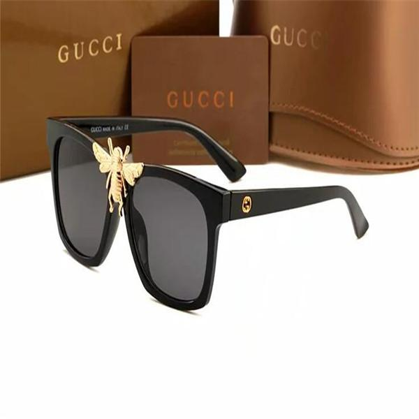 2019 Round Metal Sunglasses Designer Eyewear Gold Flash Glass Lens For Mens Womens Mirror Sunglasses Round unisex sun glasse