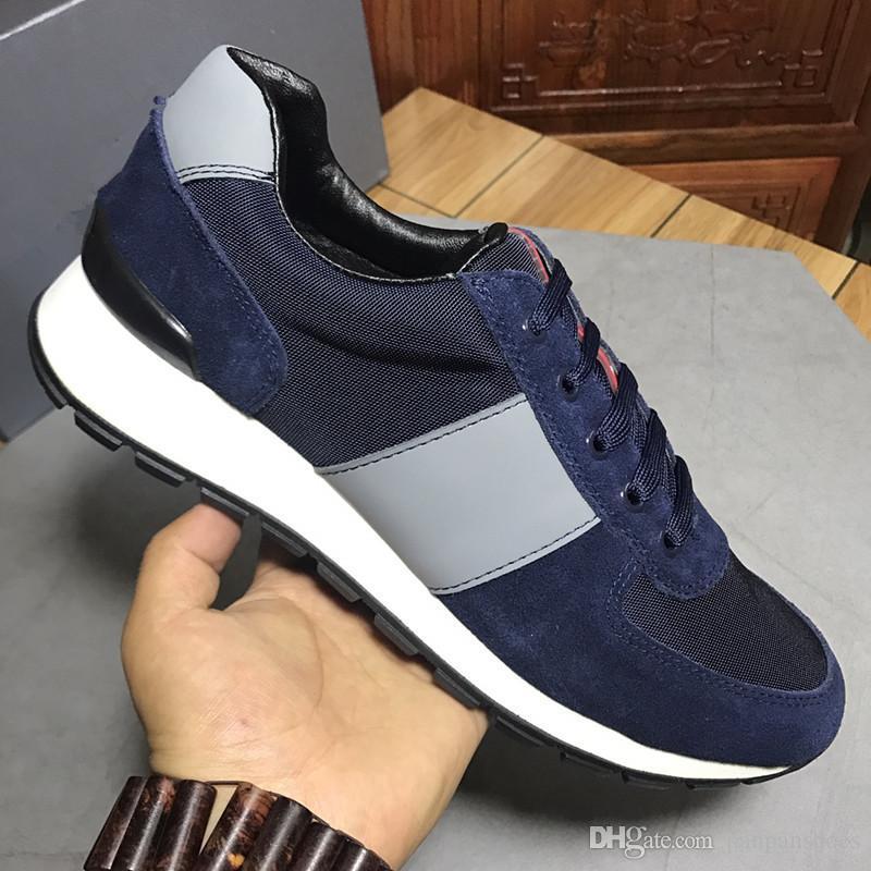 2019 Designer de Luxo Homens calçados casuais Melhores Cheap Mens Womens partido Sneakers Moda Wedding iluminadas calça as sapatilhas Tênis xg180914