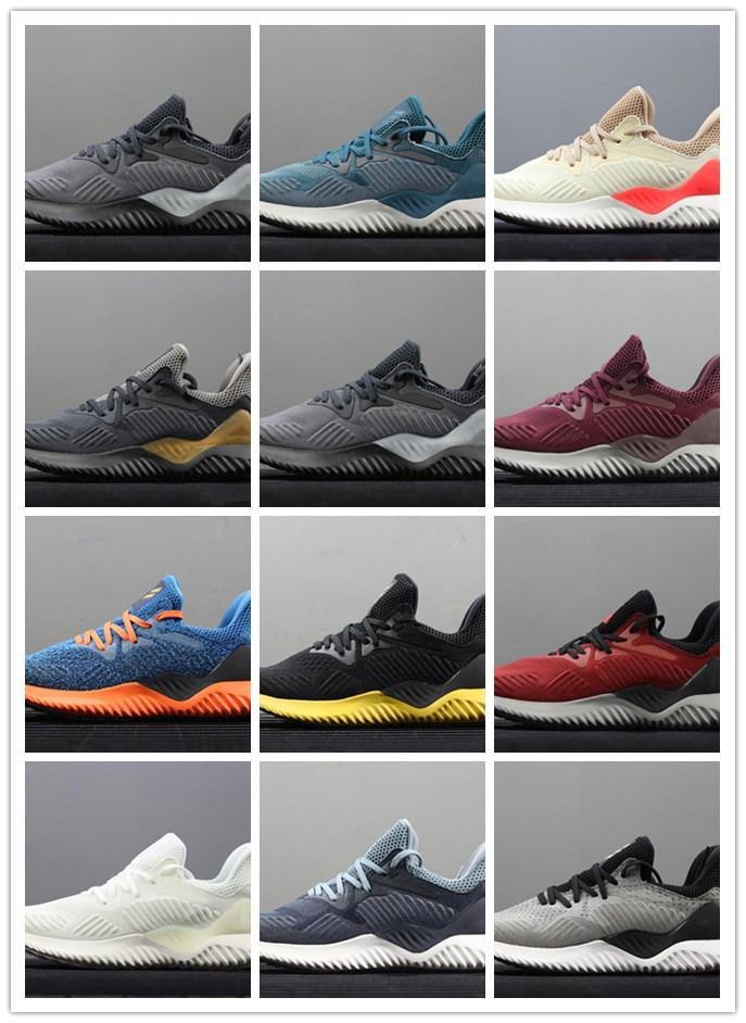 La venta de rebote 3 zapatos corrientes AlphaBounce M V3 Alpha de calidad superior 3s Negro Blanco Azul Hombres Mujeres Aire libre Zapatillas Tamaño 36-45