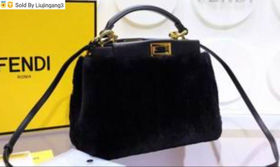 Liujingang3 6805 or noir Top Poignées Boston Fourre-Tout Sacs à dos Ceinture bandoulière Mini sac Sacs Bagages Lifestyle