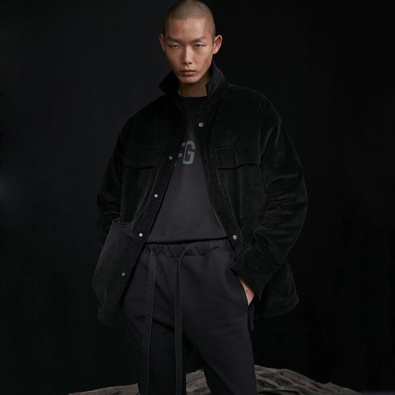 20SS Corduroy Cotton Jacken Shirts Vintage Short Jacken Männer Frauen beiläufige Straße Wintermantel Warm Tooling Fleece Outwear HFYMJK287