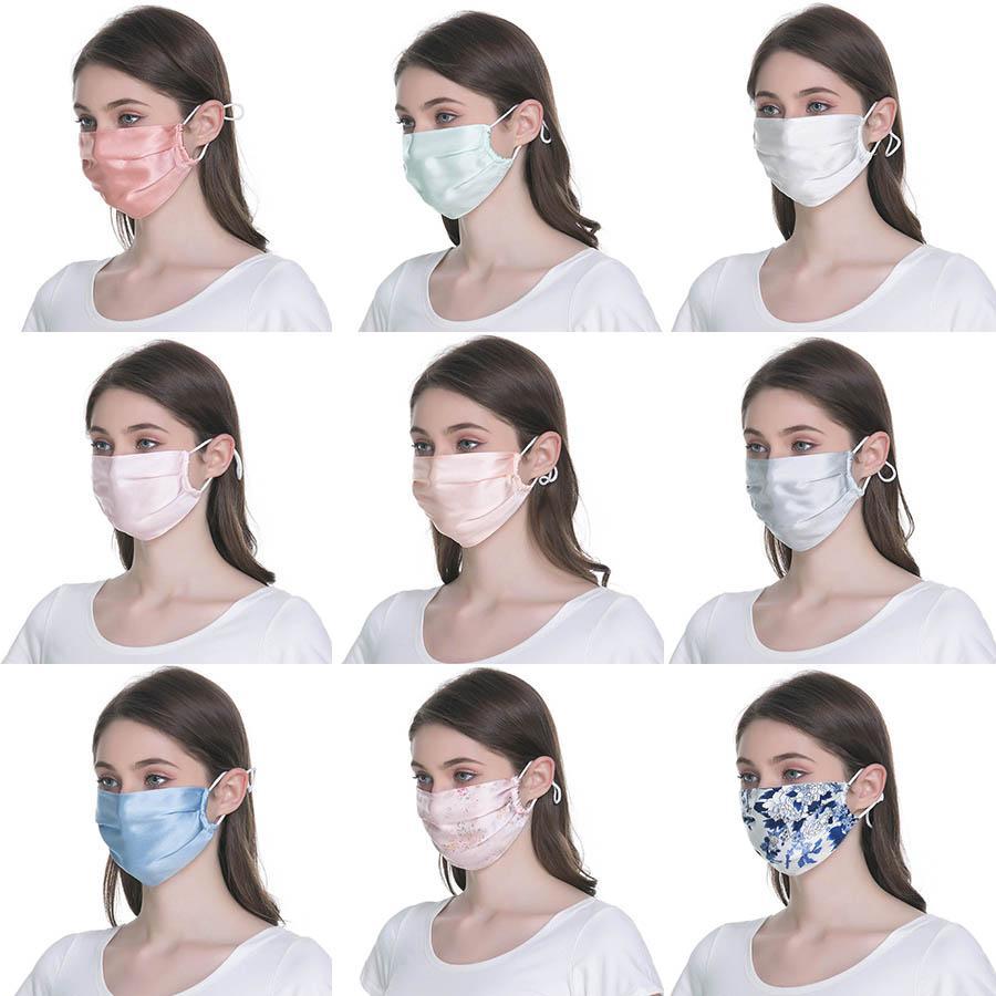 الحرير واقية من الشمس الإناث والذكور الصيف تنفس قسم رقيقة الوجه قناع يمكن تنظيفها وسهلة للتنفس الغبار قناع XD23717