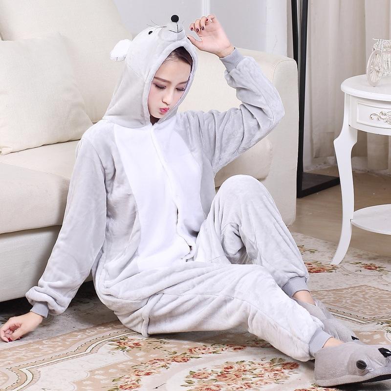 wT7I9 de dibujos animados de una sola pieza pijamas del zodiaco de la rata ropa ropa ropa de muebles para el hogar pollo ovejas serpiente perro conejo mono anuncio macho y hembra