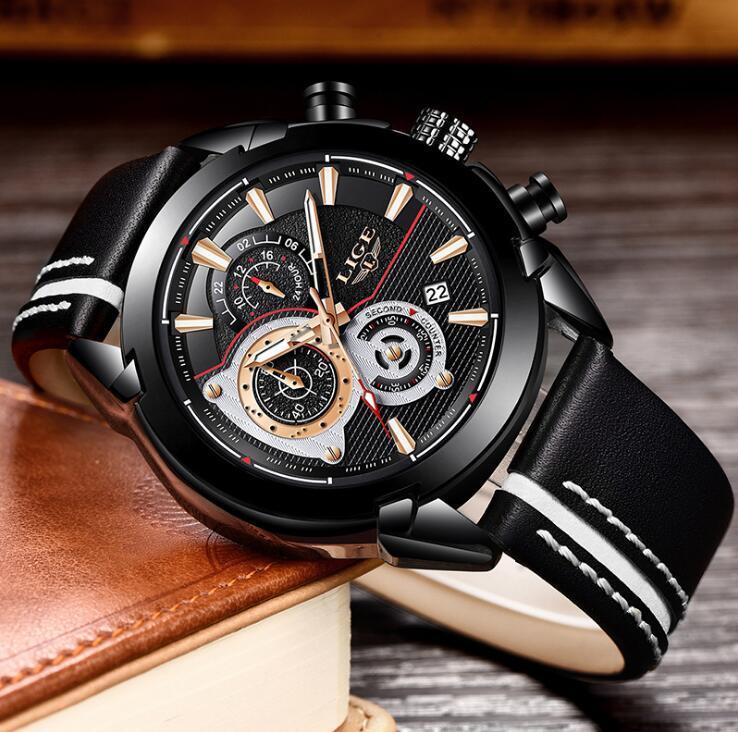 Vente en gros des affaires de tendance de la mode Casual imperméable ceinture multifonctionnelle montre lumineuse hommes de montre