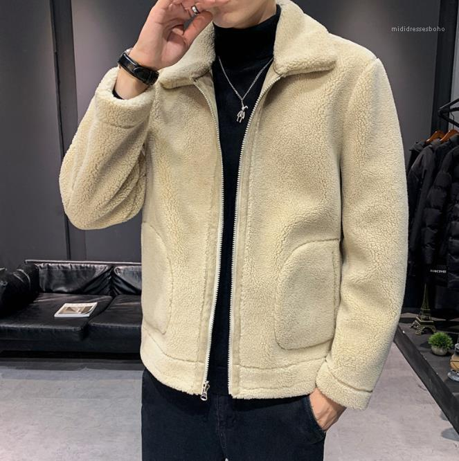 Стенд Воротник Slim Fit Tops Плюс размер Верхняя одежда Мужской одежды Mens конструктора пальто куртки осень зима