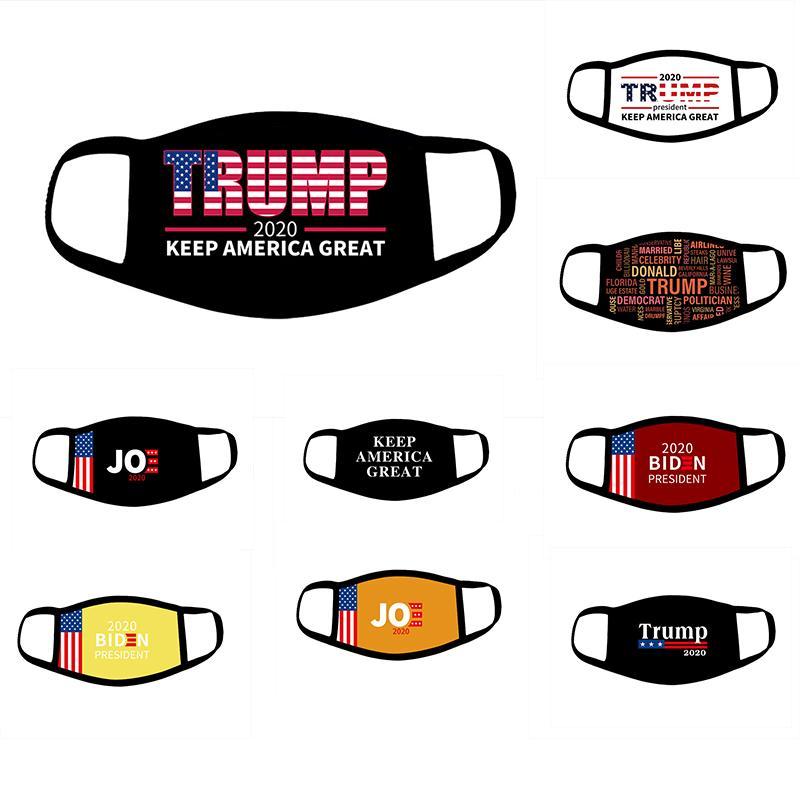 2020 Election Trump Mask Keep America Great 3D à nouveau imprimer Biden Party Masques visage anti-poussière pollution Respirant masques de Cover Designer Bouche