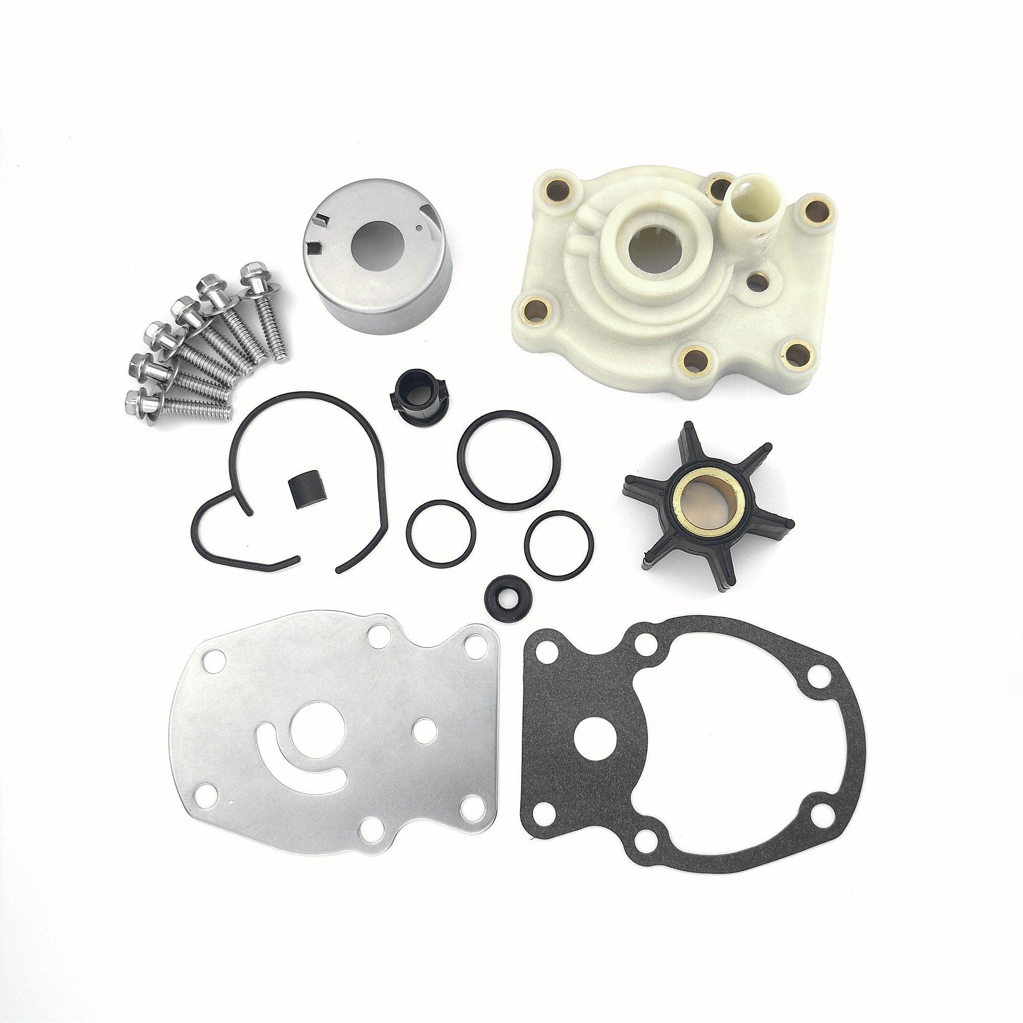 Water Pump Rebuild Repair Kit 1 Set Water Pump Repair Impeller Kit For Johnson Evinrude 20//25//30//35hp Outboard Motors 393630