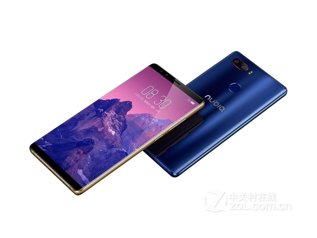 Original de telefone celular ZTE Nubia Z17S 4G LTE 8GB de RAM 128GB ROM Snapdragon 835 5,73 polegadas tela cheia 23MP OTG Fingerprint ID Smart Mobile Telefone