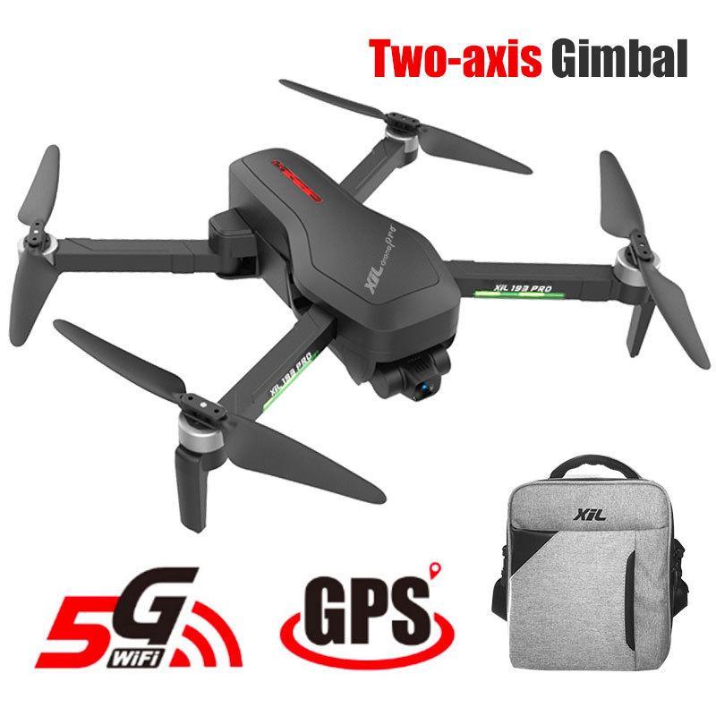 Hipac SG906 برو الطائرة بدون طيار 4K GPS مع كاميرا 2 محور انحراف فرش Profissional 800M واي فاي 25Mins RC درون 4K GPS الطائرة بدون طيار Quadrocopter T200718