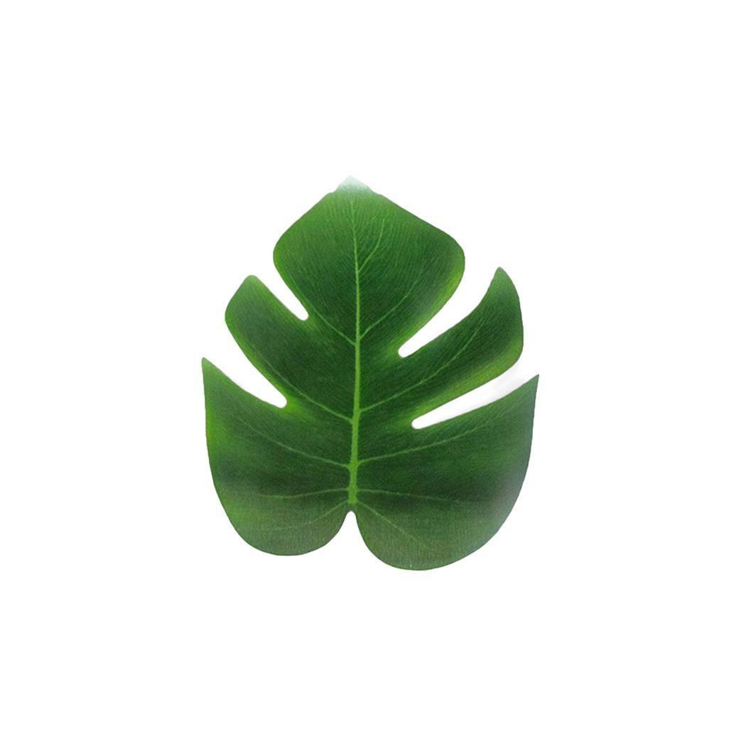 Faux Simulation Artificial Monstera Pflanze Blatt 0,17 KG Grün Gefälschte Dekorative Pflanzen Blätter