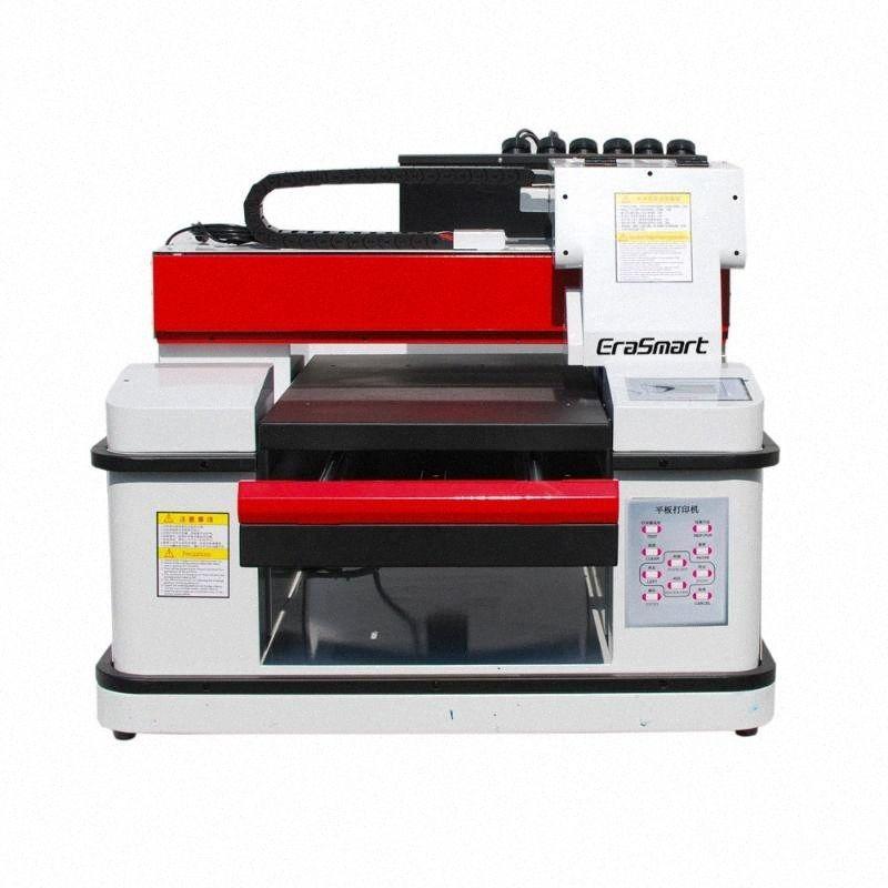 3360 A3 + deux XP600 tête d'impression 4 couleurs vernis 3 5 imprimante de canal d'encre blanche QhEd #