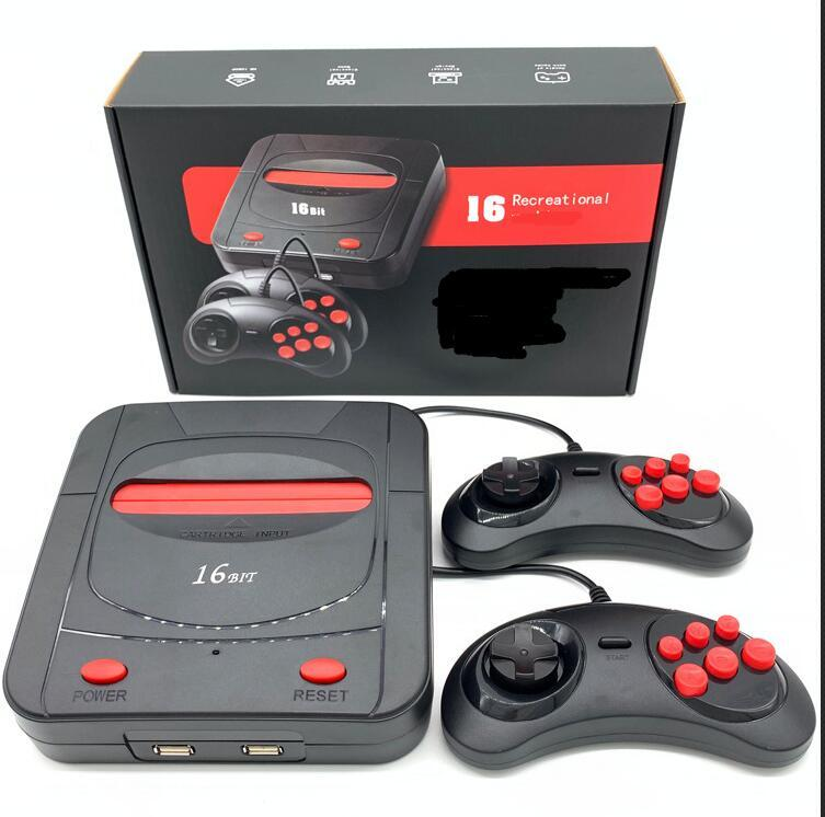 16 Bit TV Retro Video Game Console Support TF Card HD Handheld Gaming Player 188 Game Console
