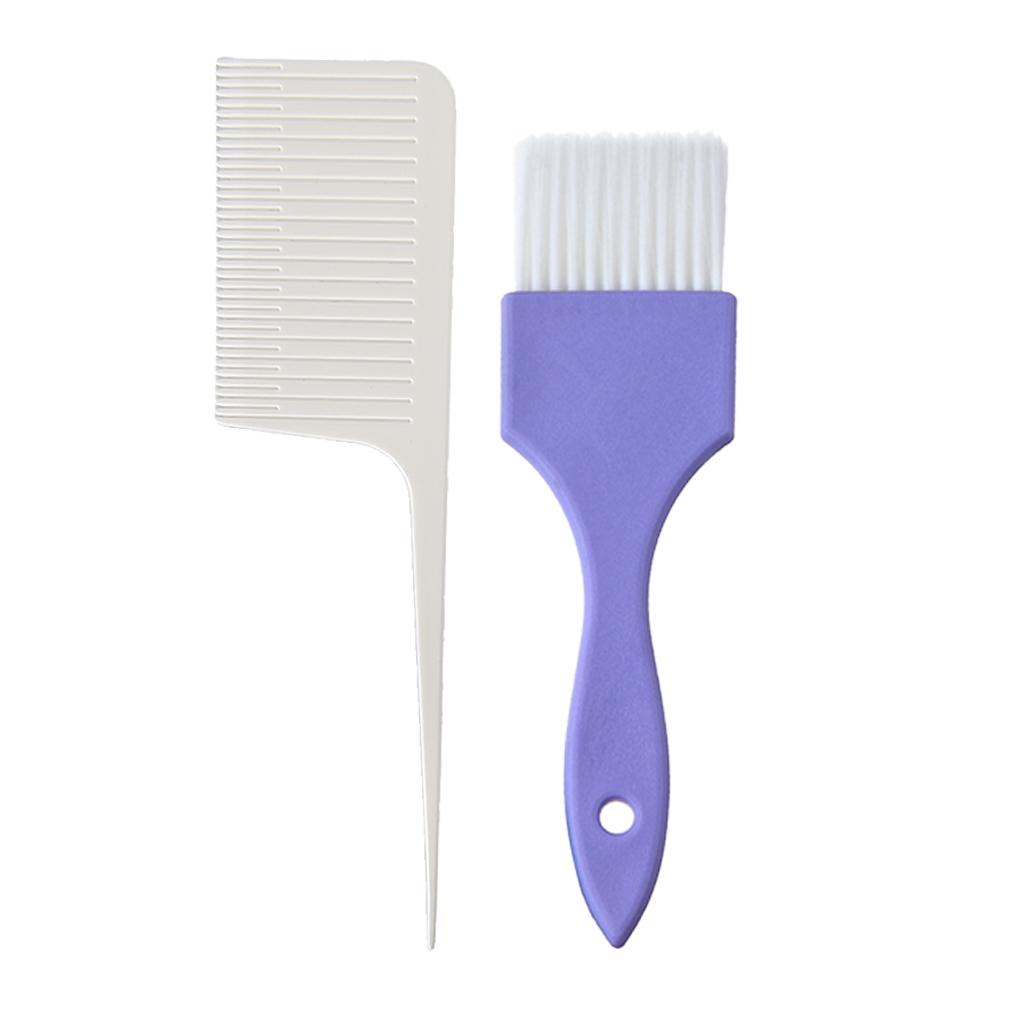 Professional Weaving Highlighting Foiling Hair Comb & Brush
