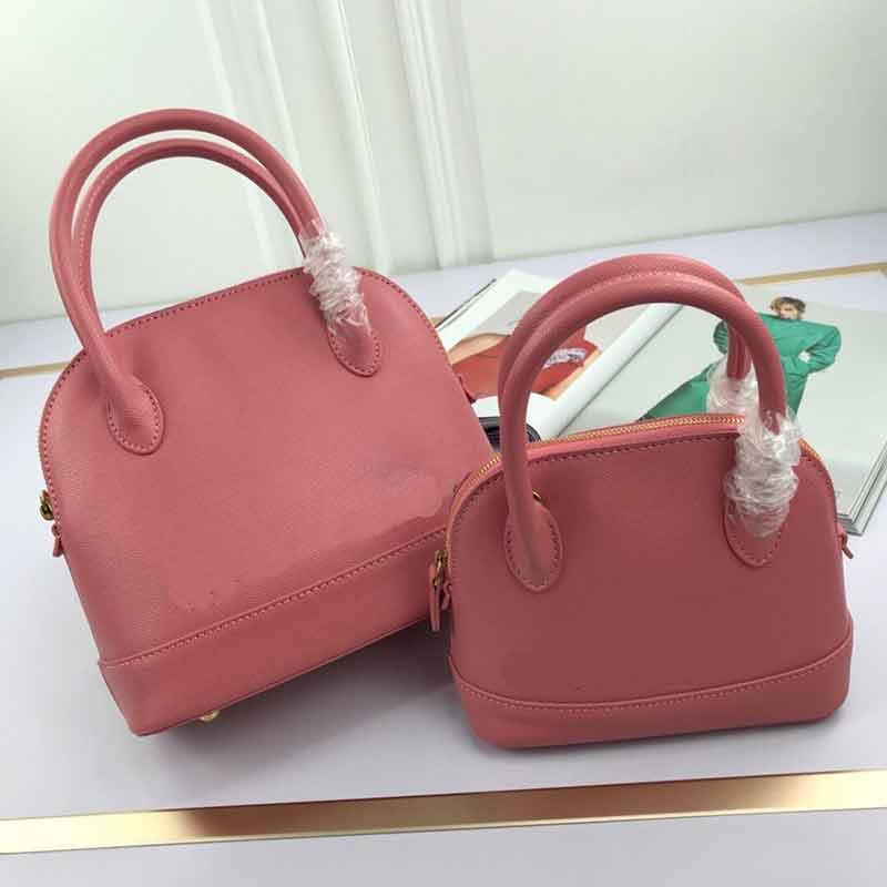 Totes Echte Mode Handtaschen Stil High Bags Qualität Leder Frauen Shell Bal Leder Frauen Damen Tasche Ba Geldbörse Geldbörsen Original Bhcja UQQL